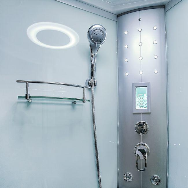 AcquaVapore DTP8058-5000 Dusche Duschtempel Komplett Duschkabine 90x90 XL – Bild 9