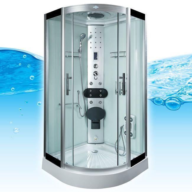 AcquaVapore DTP8058-5003 Dusche Dampfdusche Duschtempel Duschkabine -Th 90x90XL – Bild 3