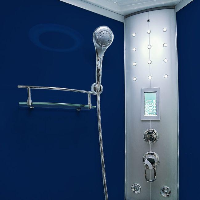 AcquaVapore DTP8058-6203 Dusche Dampfdusche Duschtempel Duschkabine -Th. 100 XL – Bild 9