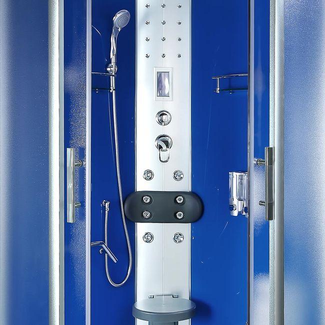 AcquaVapore DTP8058-6212 Dusche Dampfdusche Duschtempel Duschkabine 100x100 XL – Bild 10