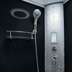 AcquaVapore DTP8058-6300 Dusche Duschtempel Komplett Duschkabine 100x100 XL Bild 9