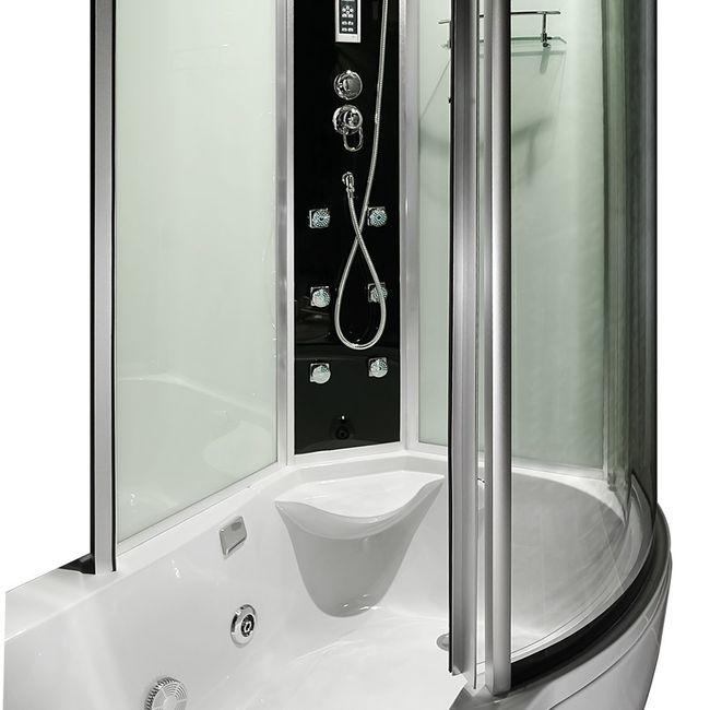 AcquaVapore DTP8050-WS Whirlpool, Badewanne, Dusche, Duschkabine 170x98 – Bild 12