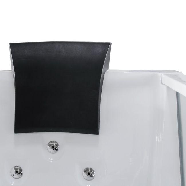 AcquaVapore Whirlpool Pool Badewanne Wanne A1813NC mit Reinigungsfunktion 185x90 – Bild 8