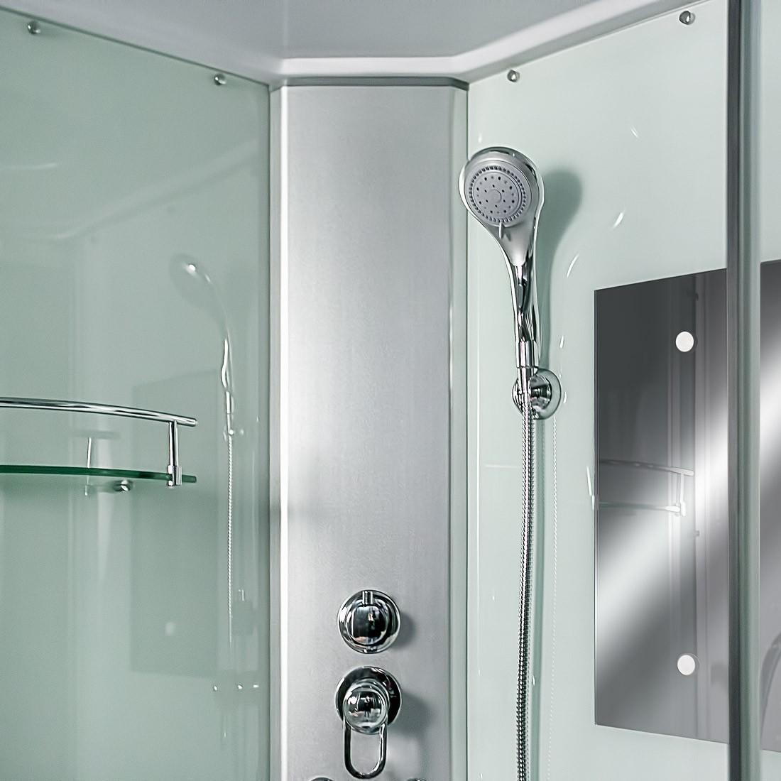 acquavapore dtp10 1000 duschkabine fertigdusche dusche komplettkabine m90 ebay. Black Bedroom Furniture Sets. Home Design Ideas