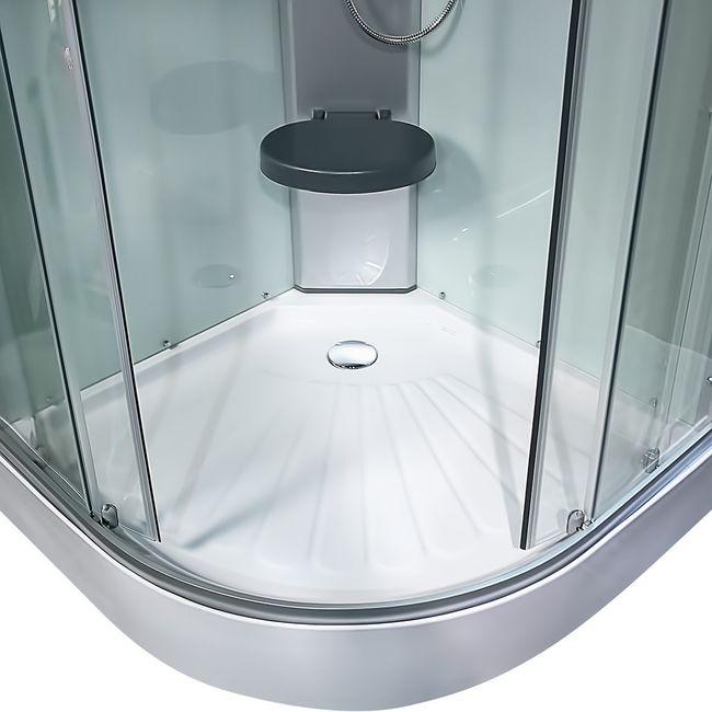 AcquaVapore DTP10-2000 Dusche Duschtempel Duschkabine Fertigdusche 100x100 – Bild 9