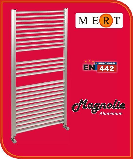 Aluminium Badheizkörper Magnolie – Bild 3