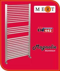 Aluminium Badheizkörper Magnolie Bild 3