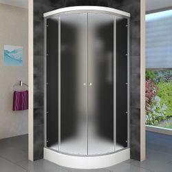 AcquaVapore DTP10-0311 Dusche Duschtempel Duschkabine Fertigdusche 80x80 Bild 2