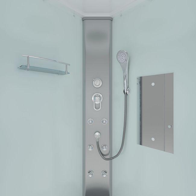 AcquaVapore DTP10 Dusche Duschkabine Fertigdusche 80x80 90x90 100x100 – Bild 5