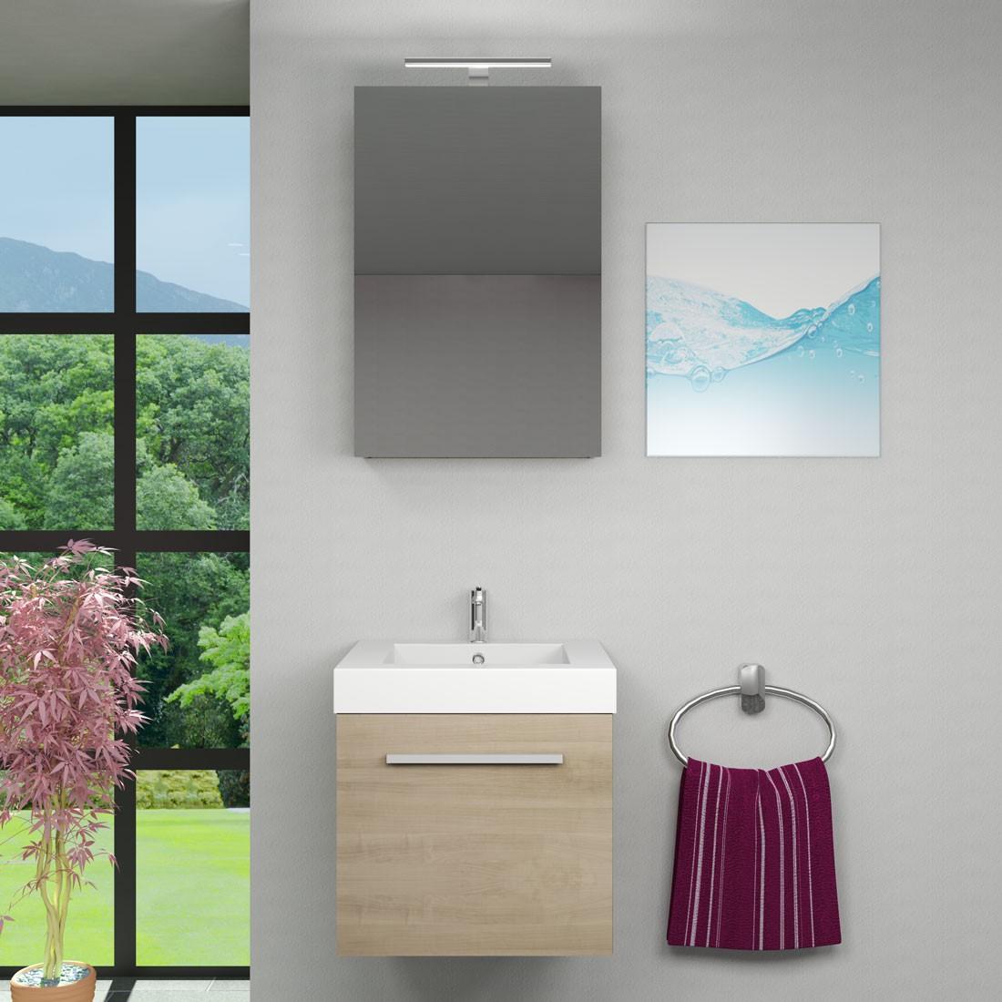 Spiegel Für Das Badezimmer: Spiegelschrank, Badspiegel, Badezimmer Spiegel City 50cm