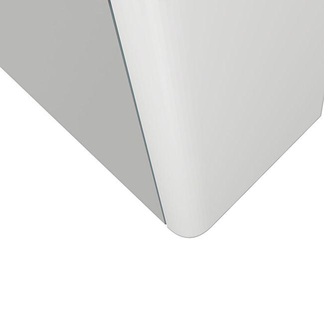 Badmöbel Set Curve 213 V1 MDF weiß, Badezimmermöbel, Waschtisch 120cm – Bild 9