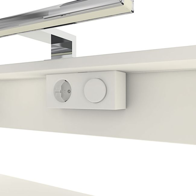 Badmöbel Set Gently 1 V1 Hochglanz weiß, Badezimmermöbel, Waschtisch 80cm – Bild 7