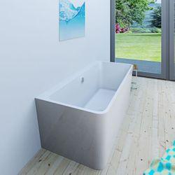 AcquaVapore freistehende Badewanne Wanne Acryl FSW05 170x80cm Armatur wählbar Bild 7