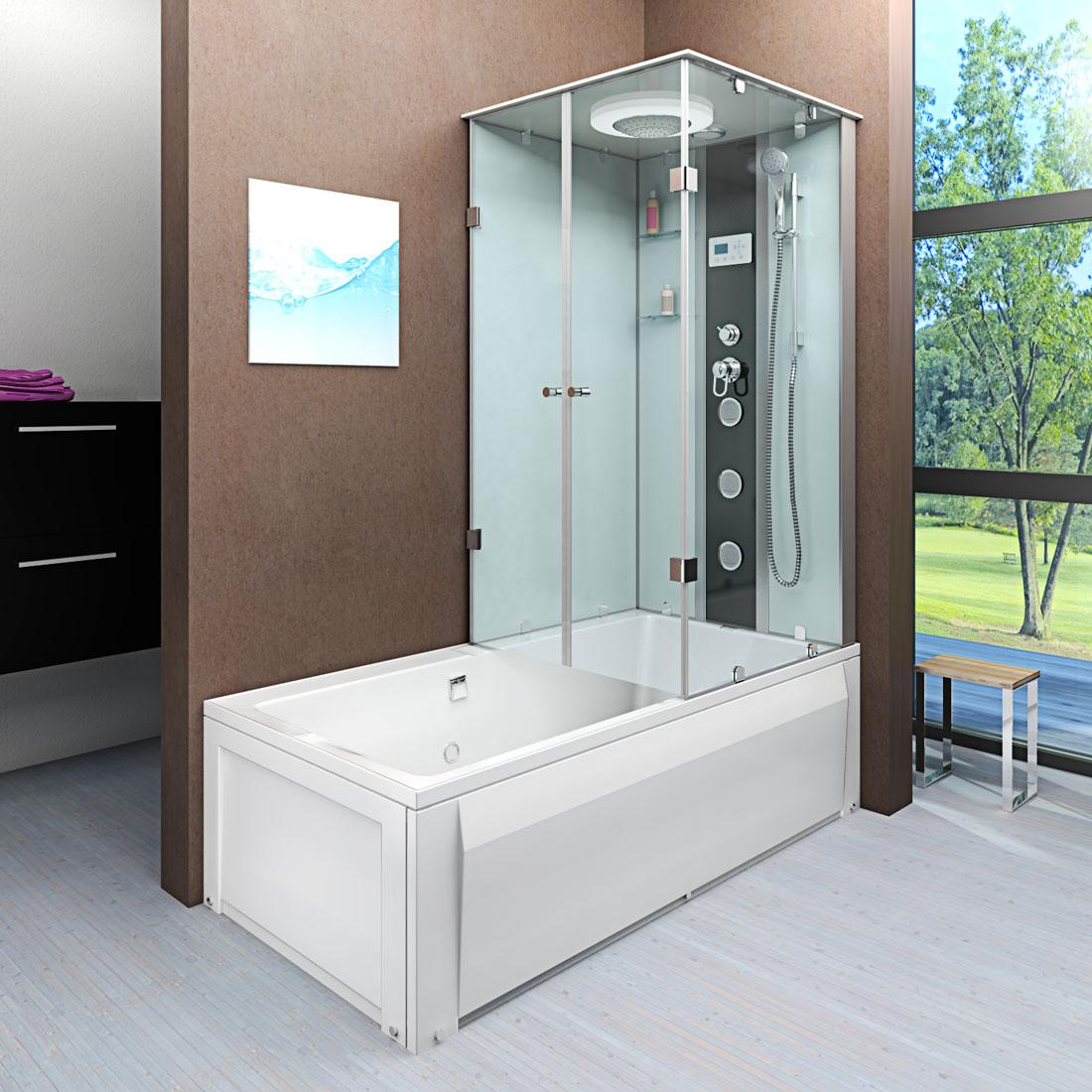 Badewanne Dusche Kombi