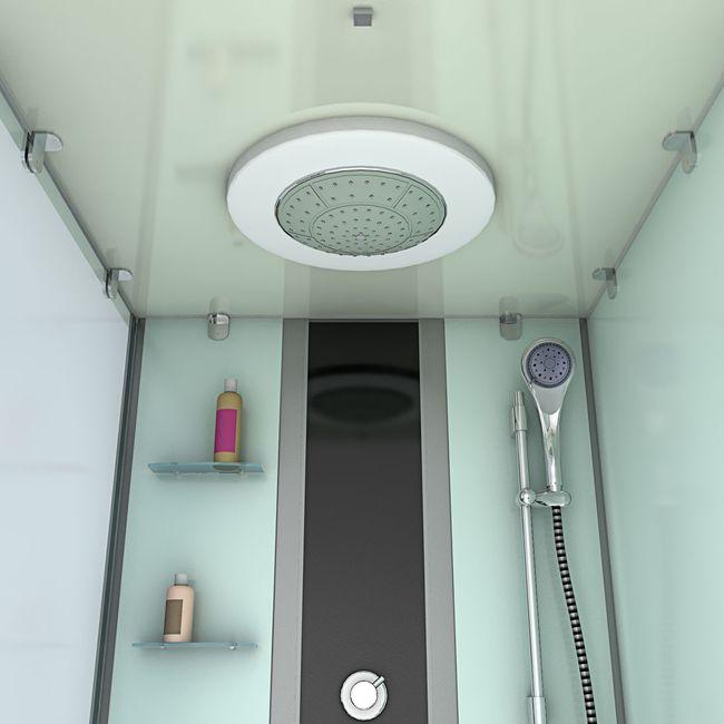 AcquaVapore DTP50-A002R Whirlpool Wanne Duschtempel Dusche Duschkabine 90x180 – Bild 9