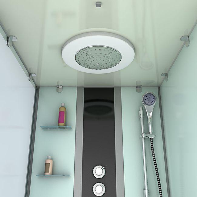 AcquaVapore DTP50-A004R Wanne Duschtempel Badewanne Dusche Duschkabine 90x180 – Bild 9