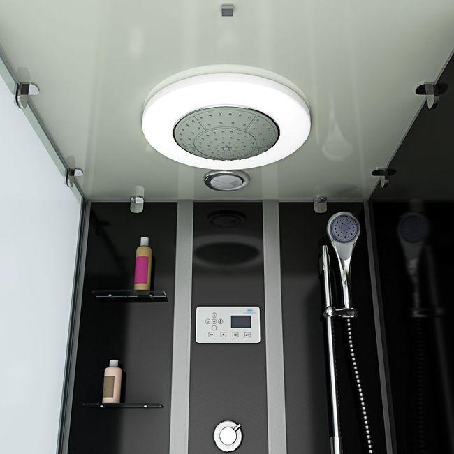 AcquaVapore DTP50-A301R Wanne Duschtempel Badewanne Dusche Duschkabine 90x180 – Bild 7