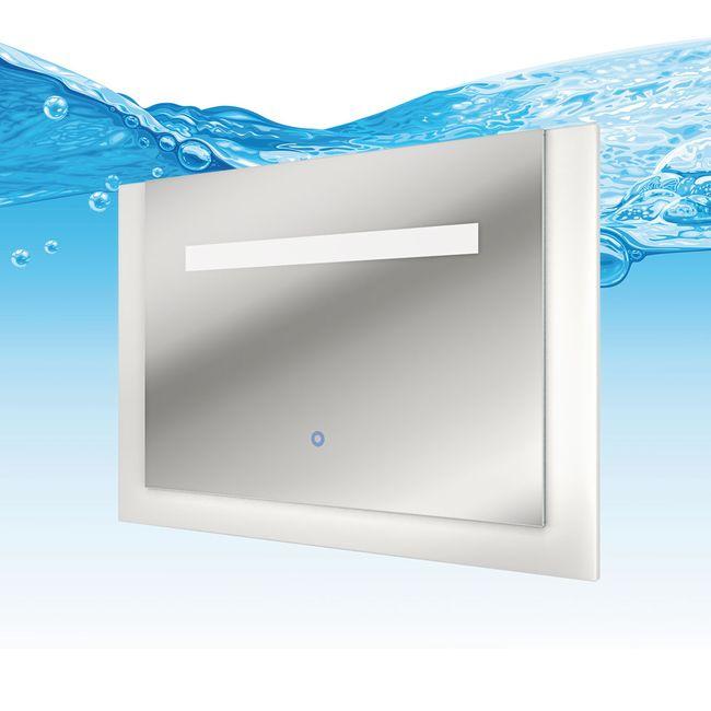 Badmöbel Set Gently 3 V1 Hochglanz weiß, Badezimmermöbel, Waschtisch 80cm – Bild 7