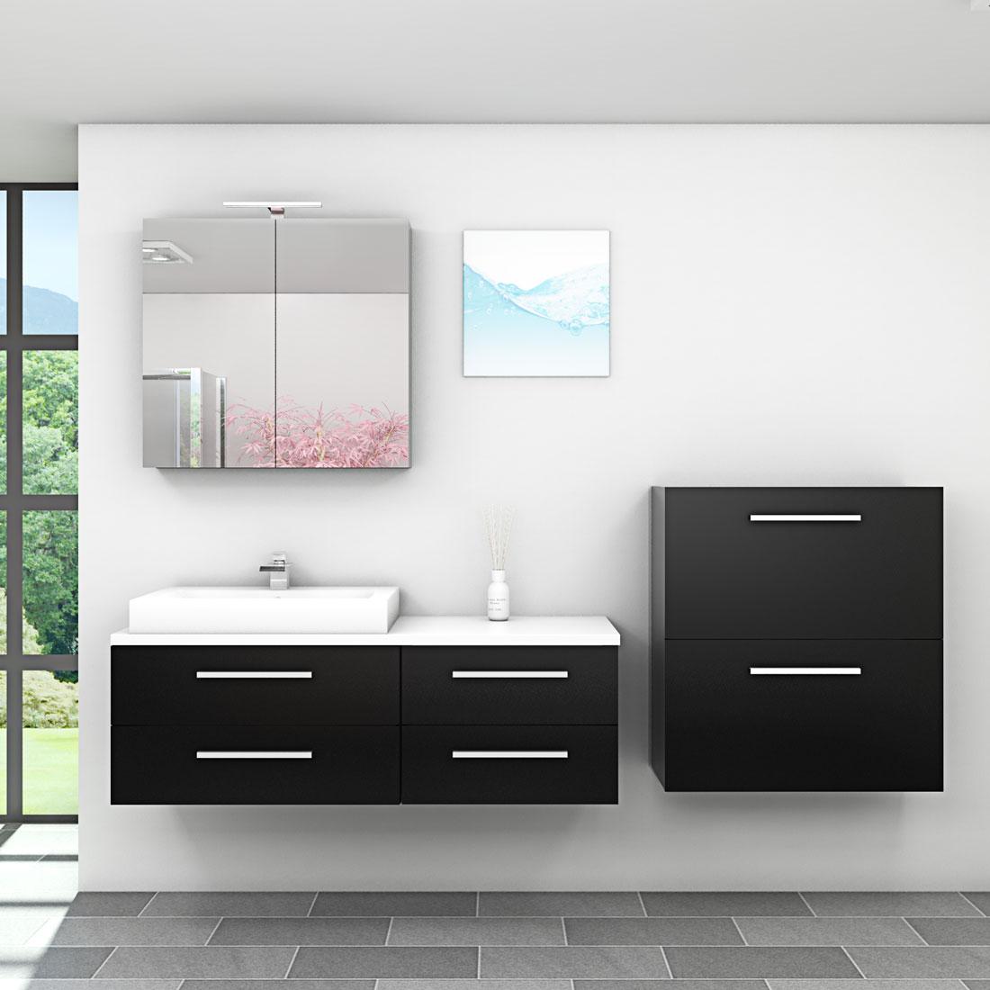 Waschtisch 140 cm - Badezimmermobel ebay ...