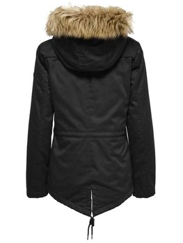 ONLY Damen Winterjacke Jacke KATE SHORT CANVAS PARKA OTW Jacket – Bild 4