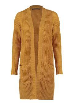 ONLY Damen Oversize Maxi Strick Jacke onlANNA L/S SLIT CARDIGAN KNT – Bild 4