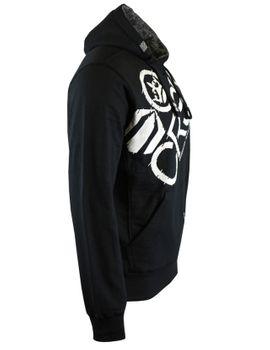 CROSSHATCH Herren Sweatshirt Pullover FLASHPOINT BORG LINED HOOD Kapuze – Bild 3