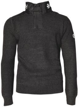 CROSSHATCH Herren Strick Pullover Troyer GARFORTH CH HEAVY KNIT HI NECK – Bild 6
