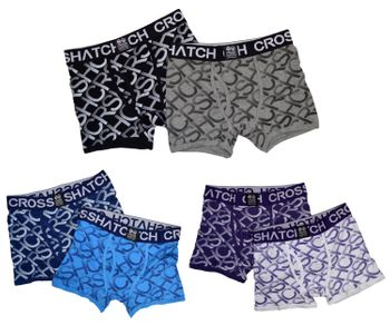 CROSSHATCH Boxershorts Boxer EQUALIZER CH 2PK PRINT BOXERS 2er Pack 001