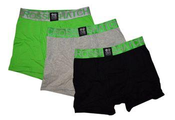 CROSSHATCH Boxershorts Boxer RGB CH 3PK PLAIN BOXERS 3er Pack – Bild 3