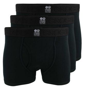 CROSSHATCH Boxershorts Boxer TRIPLET CH 3PK SOLID COL BOXER 3er Pack – Bild 2