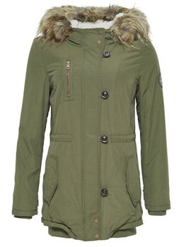 ONLY Damen Winterjacke onlVALENCIA LONG HOODED JACKET Parka Jacke Mantel – Bild 4