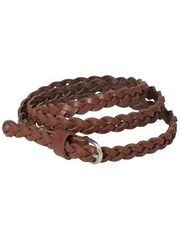 ONLY Damen Leder Gürtel BIWI BRAIDED LAETHER BELT NOOS – Bild 3