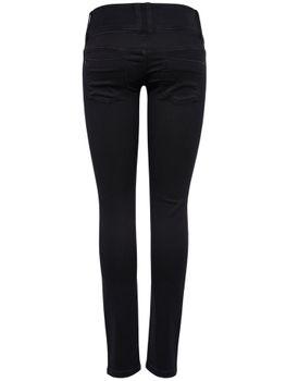 ONLY Damen Jeans onlANEMONE SOFT BLACK PIMBL01 RP schwarz skinny – Bild 3