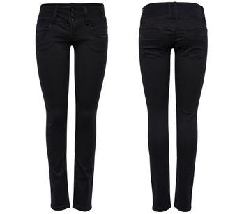 ONLY Damen Jeans onlANEMONE SOFT BLACK PIMBL01 RP schwarz skinny – Bild 1