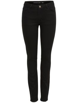 JDY by ONLY Damen Jeans SKINNY LOW HOLLY JEANS BLACK NOOS DNM Stretch black – Bild 1