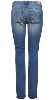 ONLY Damen Denim Jeans SISSE REG SLIM DNM CRY 823 Medium Blue – Bild 3