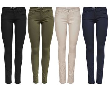 ONLY Damen Hose onlLUCIA SL SKINNY PUSH UP PANT NOOS  superlow