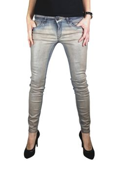 DRYKORN Damen Jeans Hose SKINNY Modell IN coated Stretch – Bild 2