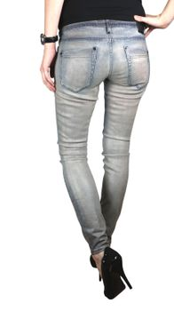 DRYKORN Damen Jeans Hose SKINNY Modell IN coated Stretch 001