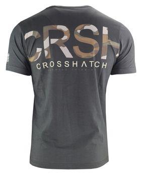 CROSSHATCH Herren T-Shirt CAMRON CH CAMO PANEL CRSH PRNT kurzarm – Bild 7