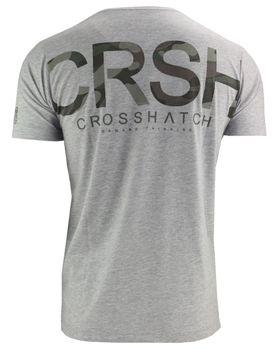 CROSSHATCH Herren T-Shirt CAMRON CH CAMO PANEL CRSH PRNT kurzarm – Bild 5