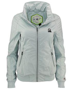KHUJO Damen Übergangs-Jacke ABIQUA Jacket Kapuze Frühling Sommer mintgrün – Bild 1