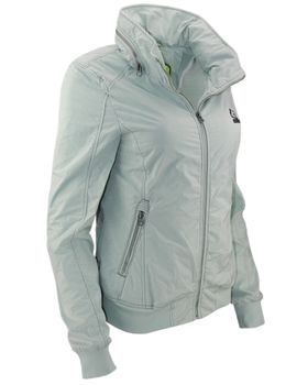 KHUJO Damen Übergangs-Jacke ABIQUA Jacket Kapuze Frühling Sommer mintgrün – Bild 2