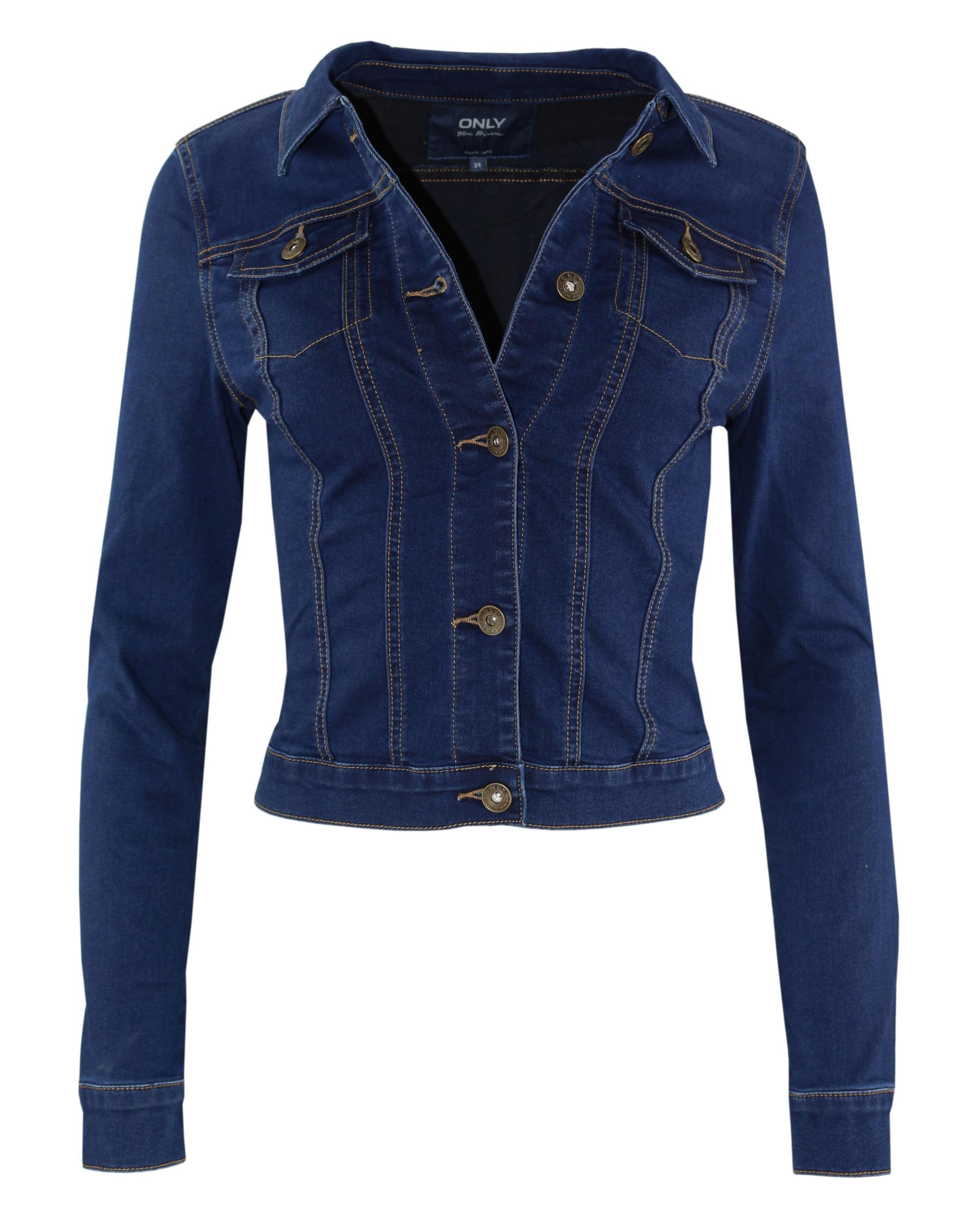 only damen jeansjacke jacke darcy stretch jacket bj7988. Black Bedroom Furniture Sets. Home Design Ideas