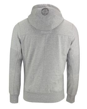 CROSSHATCH Herren Sweatshirt Pullover SEVCON CH HOODY RIBBED PANELS Hoodie Kapuze – Bild 7