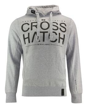 CROSSHATCH Herren Sweatshirt Pullover SEVCON CH HOODY RIBBED PANELS Hoodie Kapuze – Bild 5