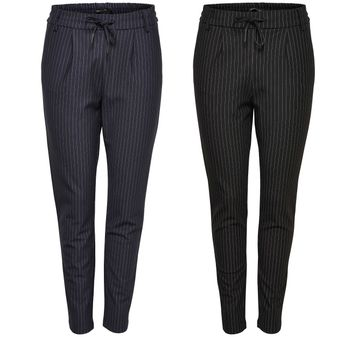 ONLY Damen Chino Stoff Hose POPTRASH CLASSIC PINSTRIPE PANT NOOS – Bild 1