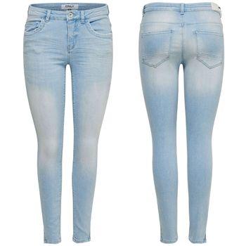 ONLY Damen Jeans Hose onlKENDELL REG CRE200 Ankle hellblau denim – Bild 1