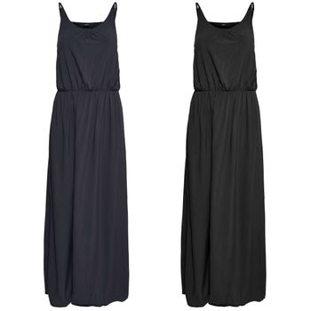 ONLY Damen Kleid onlNOVA SOLID STRAP MAXI DRESS lang Maxikleid Sommer