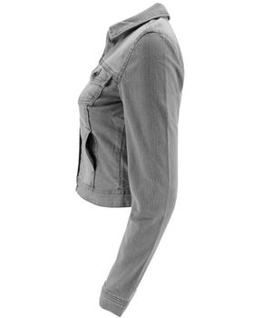 ONLY Damen Denim Jeansjacke Jacke WESTA GREY DENIM JACKET PIM 121147 grau NOOS – Bild 4